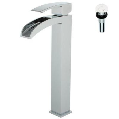 Single Handle Deck Mount Lavatory Faucet Finish: Polished Chrome