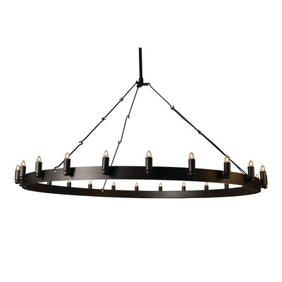 Farrington 24-Light Candle-Style Chandelier