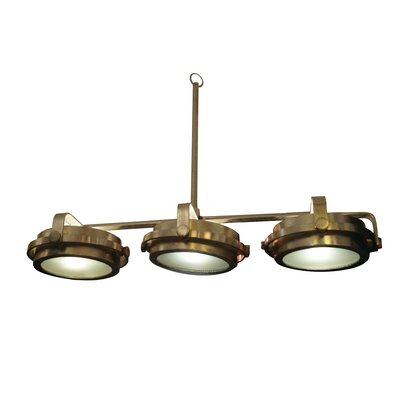 3-Light Kitchen Island Pendant