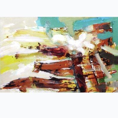 Maroon Abstract SICA7322