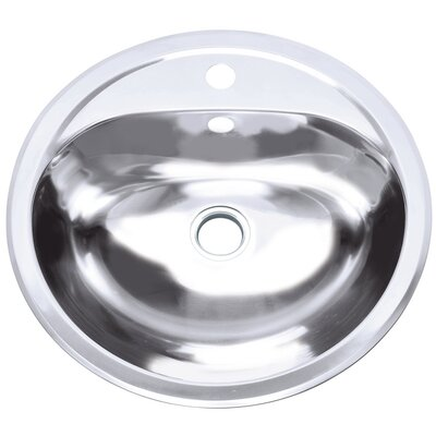 Layer Tank Circular Undermount Bathroom Sink