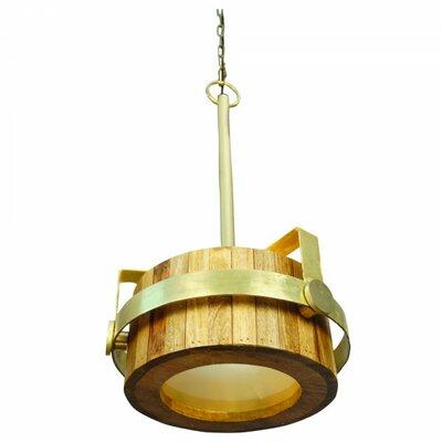 1-Light Drum Pendant