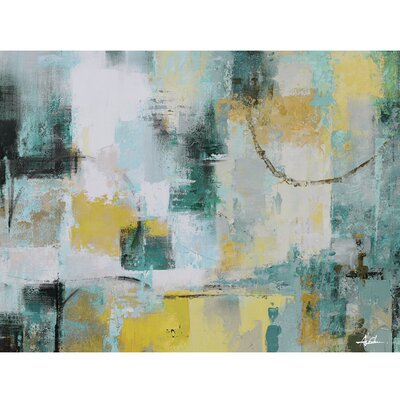Revealed Artwork Early Morning I Painting Print on Wrapped Canvas DCF1368A