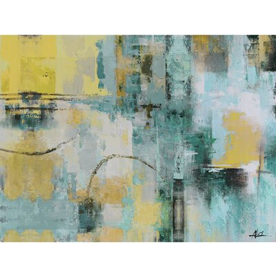 Revealed Artwork Early Morning II Painting Print on Wrapped Canvas