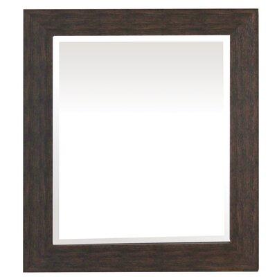 Framed Wall Mirror Size: 27