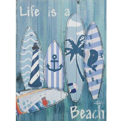 Revealed Artwork 'Avila Beach Trip I' Framed Painting Print YH9737A
