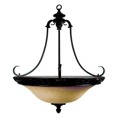 Verona 4-Light Foyer Inverted Pendant