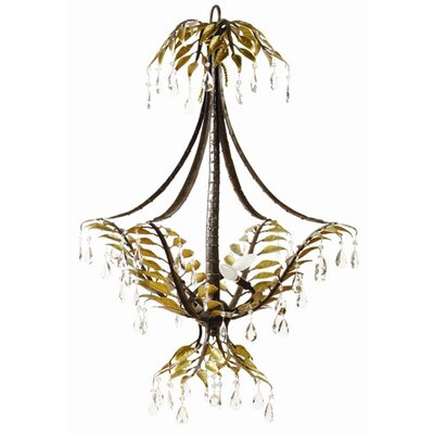 New Plantation 3-Light Foyer Pendant
