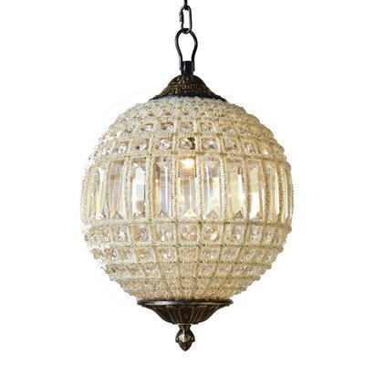 Collins 1-Light Globe Pendant