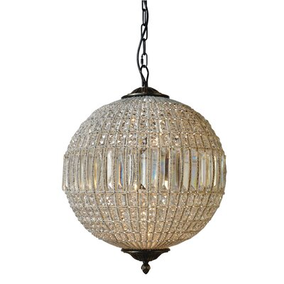 Collins 3-Light Globe Pendant