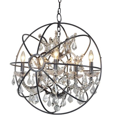 Contessa 5-Light Crystal Chandelier