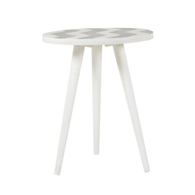 Charmain Round Mango End Table