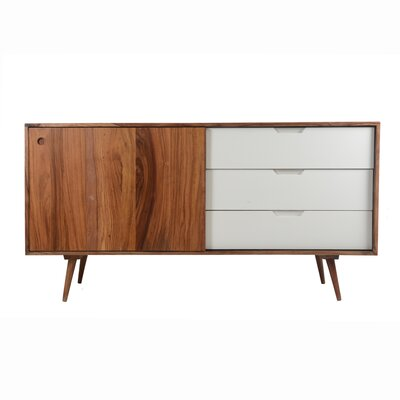 Summers Sideboard Color: White/Natural