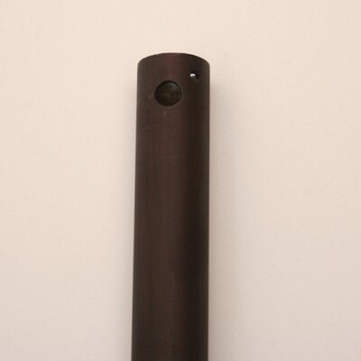 Outdoor Ceiling Fan Downrod Finish: Oil-Rubbed Bronze, Size: 18 H x 0.75 W x 0.75 W
