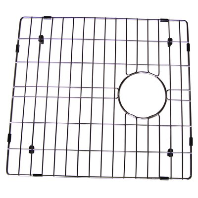 Stainless Steel 16 W x 17 D Sink Grid