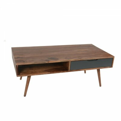 Hawkins Coffee Table Color: Natural/Gray