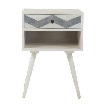 Charmain Square Mango End Table