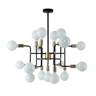 Farrand 17-Light Sputnik Chandelier