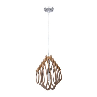 Kaing 1-Light Geometric Pendant