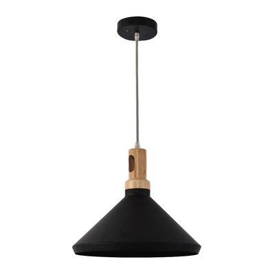 Way Wick Industrial 1-Light Mini Pendant