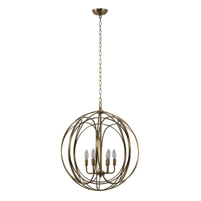 Claude 6-Light Globe Pendant