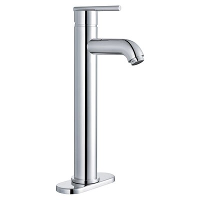 Single Handle Lavatory Faucet with Single Hole Installation Finish: Polished Chrome