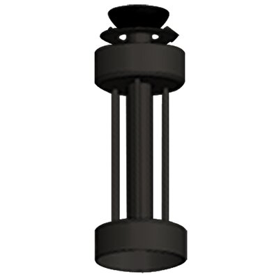 Downrod for Ceiling Fan Finish: Oil Rubbed Bronze, Height: 36