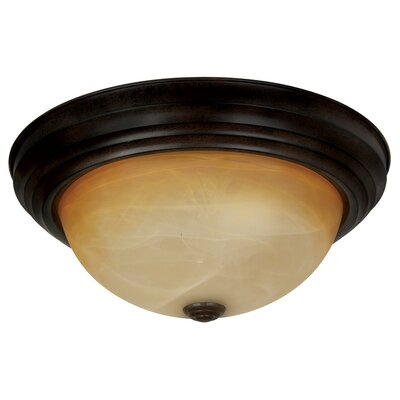 Bitter Creek 2-Light Ceiling Flush Mount