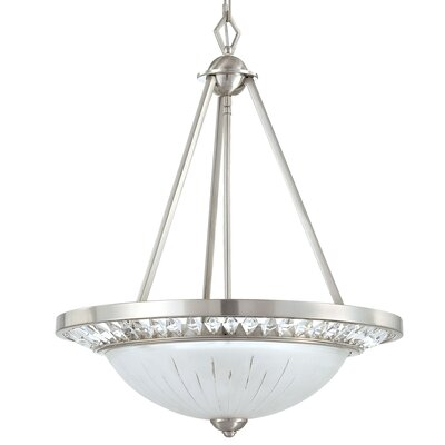 Cascade 3-Light Foyer Pendant