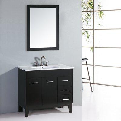 35 5 floor standing vanity set with cabinet bathroom vanity mirrors