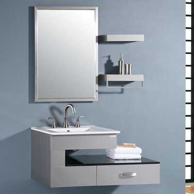 Steel Transitional Vanity | Wayfair
