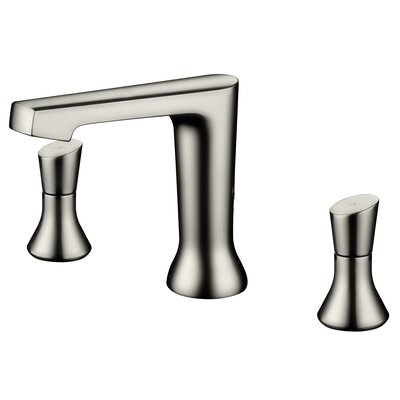 Two Handle Bathroom Faucet Finish: Brushed Nickel