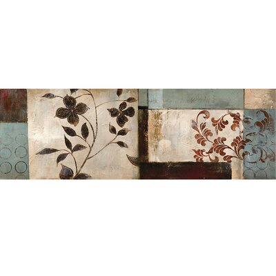 Pressed Flowers II Canvas Art