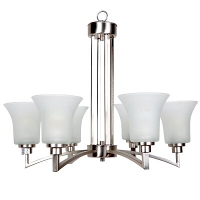 Aldridge 6-Light Shaded Chandelier