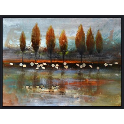 Yosemite Home Decor Revealed Artwork Autumn Reflection Painting Print on Canvas at Sears.com
