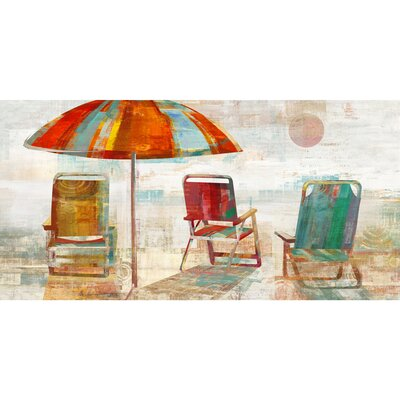 Revealed Artwork Shaded Vista I Painting Print on Wrapped Canvas YG7834A
