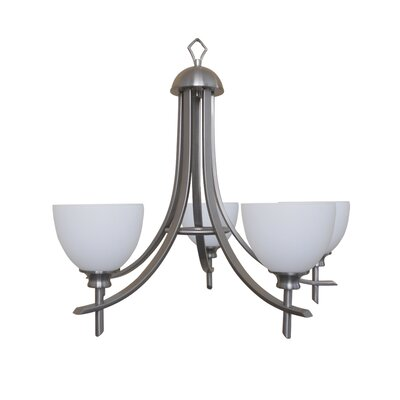 Sierra Point 5-Light Shaded Chandelier