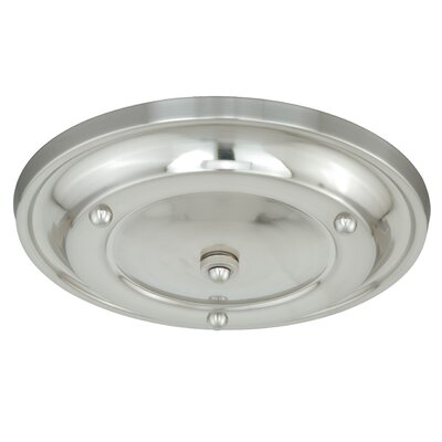 Canopy Kit Multiple Pendant Holder Finish: Polished Nickel, Size: 2.5 H x 12.75 W