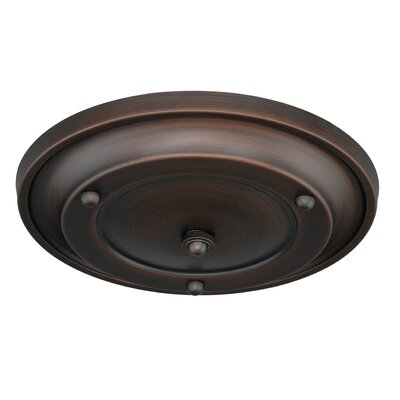 Canopy Kit Multiple Pendant Holder Finish: Venetian Bronze, Size: 2.5 H x 12.75 W