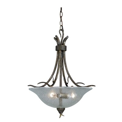 Polzin 3-Light Inverted Pendant