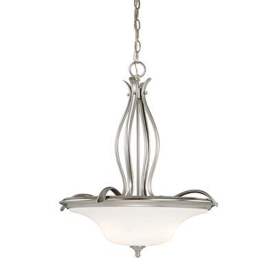 Brunner 3-Light Bowl Pendant