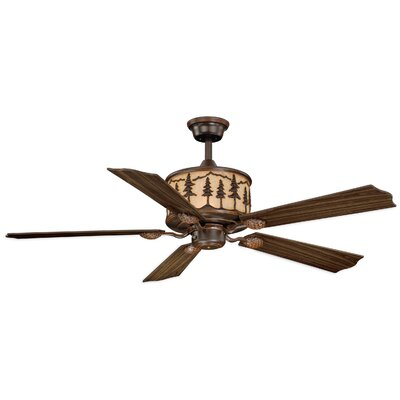 56 Yosemite 5-Blade Ceiling Fan with Remote