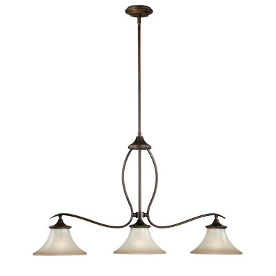 Bryon 3-Light Kitchen Island Pendant