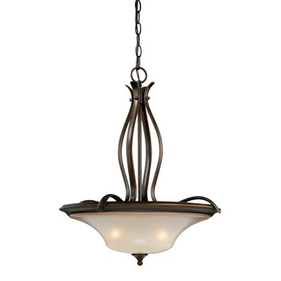 Sonora 3-Light Bowl Pendant