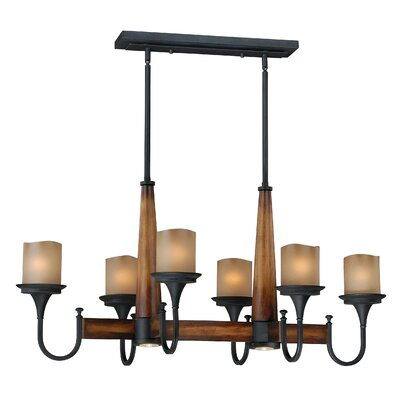 Meritage 6-Light Pendant