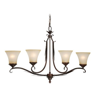 Bruhn 4-Light Pendant