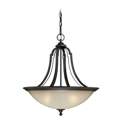 Elba 3-Light Inverted Pendant