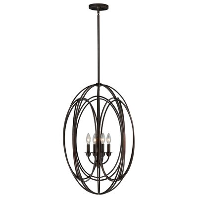 Cahoon 4-Light Foyer Pendant