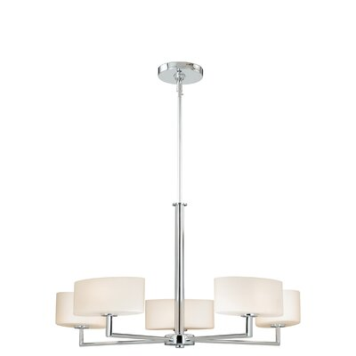 Allerton 5-Light Drum Chandelier
