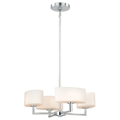 Pendergraft 4-Light Drum Chandelier